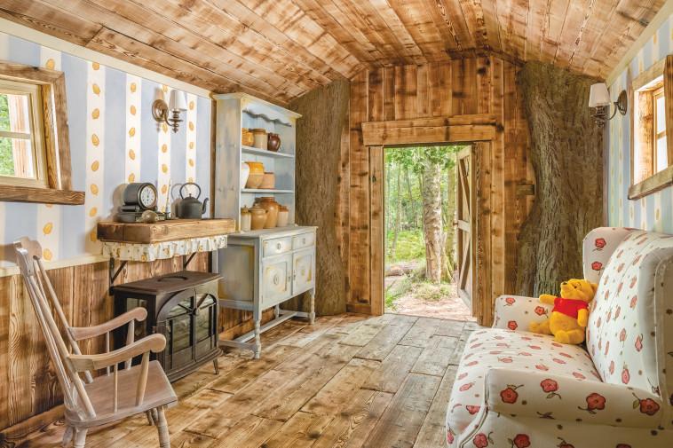 הצצה פנימה (צילום: Airbnb)