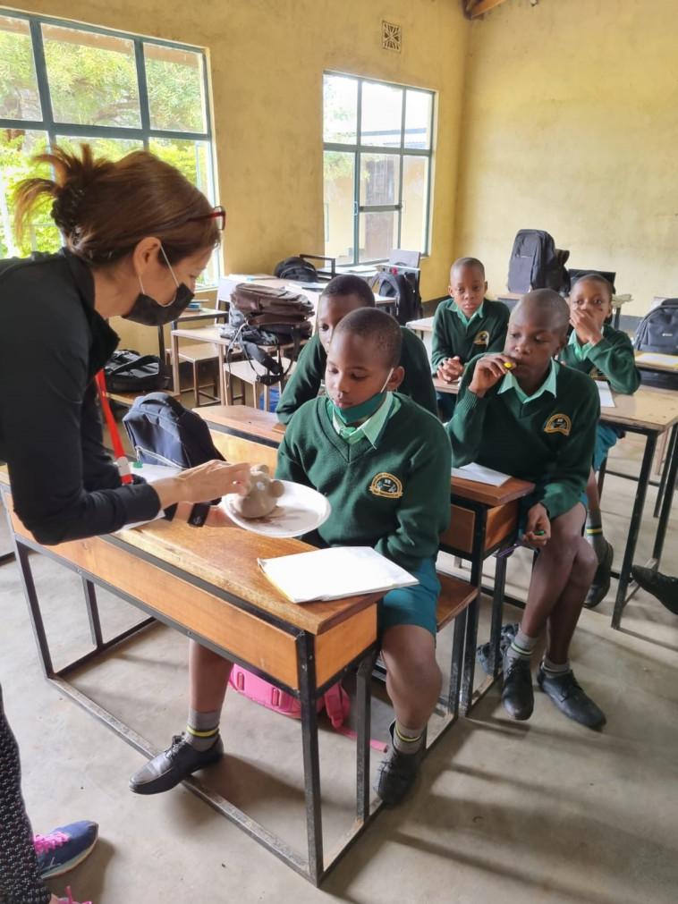 תמונות מחיי היומיום בבית הספר היסודי בכפר הימו (צילום: נתן ברי, אגודת הסטודנטים, מכללת בית ברל)
