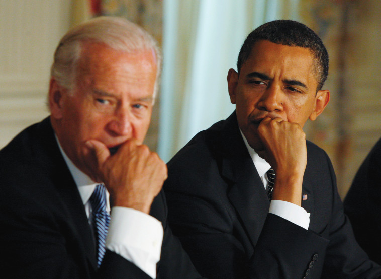 ג'ו ביידן וברק אובמה (צילום: רויטרס)