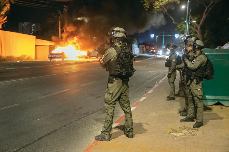מהומות בלוד (צילום: יוסי אלוני, פלאש 90)