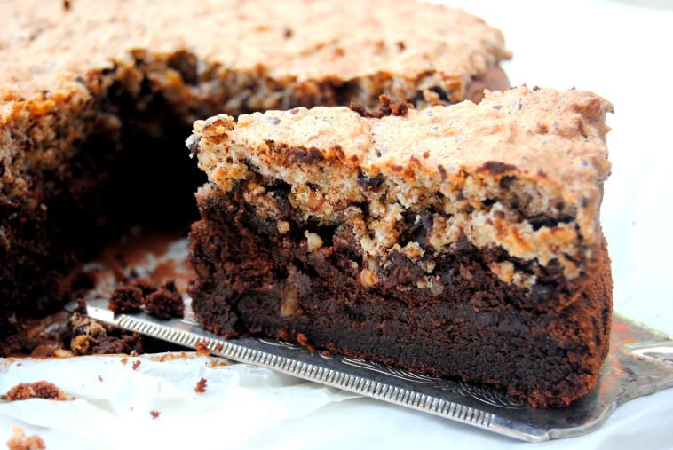 עוגת שוקולד (צילום: פסקל פרץ-רובין)