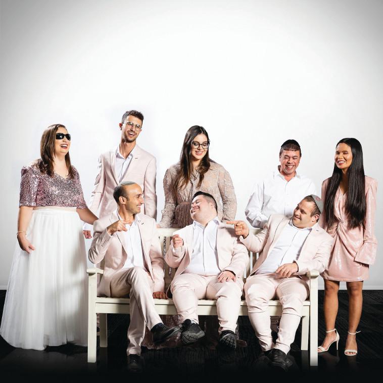 להקת שלווה (צילום: Yochanan Katz - Jerusalem Media Group )