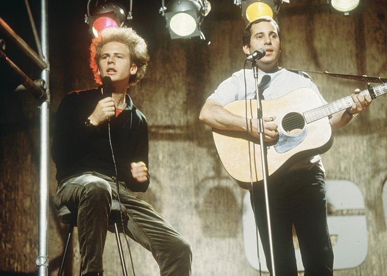 סימון וגרפונקל  (צילום: Hulton Archive.GettyImages)