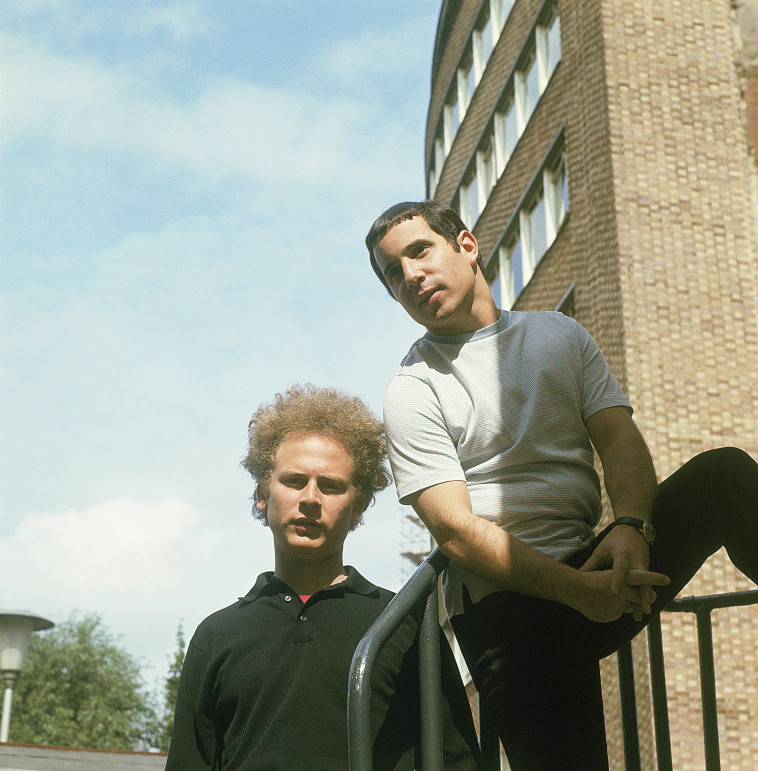סיימון וגרפונקל (צילום: Hulton Archive.GettyImages)