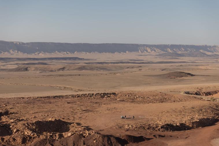 הדמיית מאדים במצפה רמון (צילום: OeWF: Florian Voggeneder)