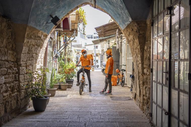 משלוחים בירושלים הבירה (צילום: אורי מגנוס)