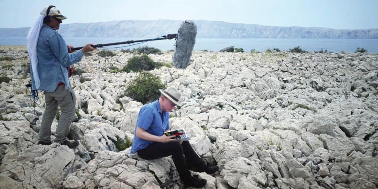 צילומי הסרט ''גרוסמן'' (צילום: עמית חכמוב)