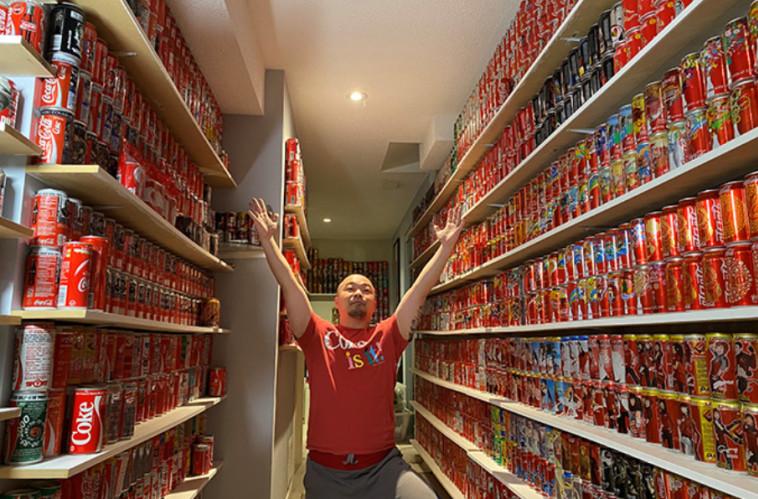 מעצמת קוקה קולה (צילום: Guinness World Records)