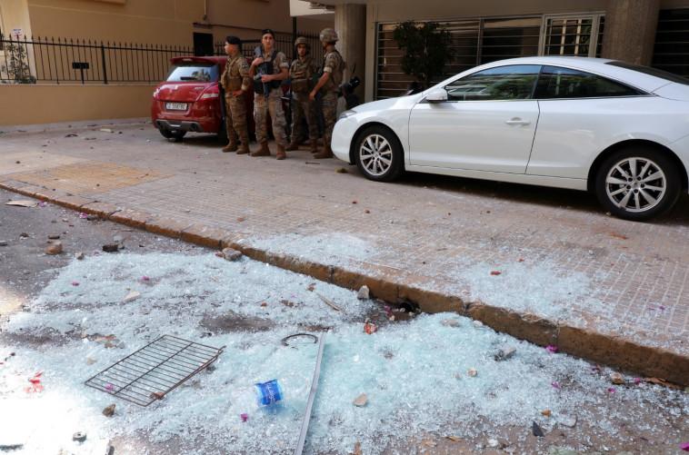 צבא לבנון בביירות (צילום: רויטרס)