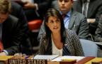 ניקי היילי בדיון במועצת הביטחון