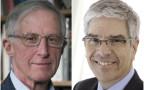 זוכי פרס נובל לכלכלה - וויליאם נורדהאוס ופול רומר
