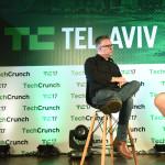 """מייק בוצ""""ר, העורך הראשי של טקראנץ׳ עם מייסד Waze, אורי לווין"""