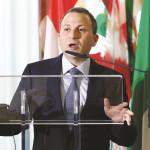 שר החוץ של לבנון ג