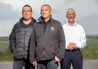 יוסי פרץ, שמעון ביטון, ישראל פרץ, ניצולי הפיגוע באביבים