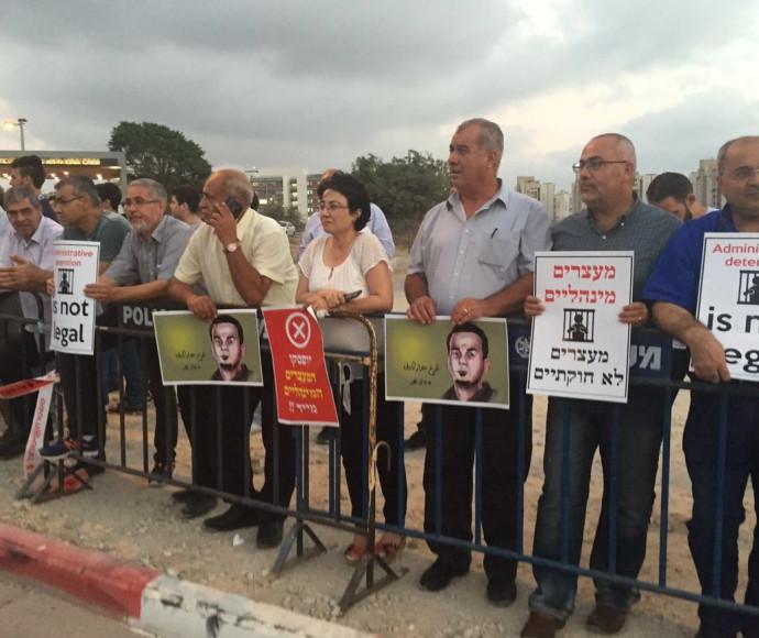 הפגנה לשחרור בילאל כאיד
