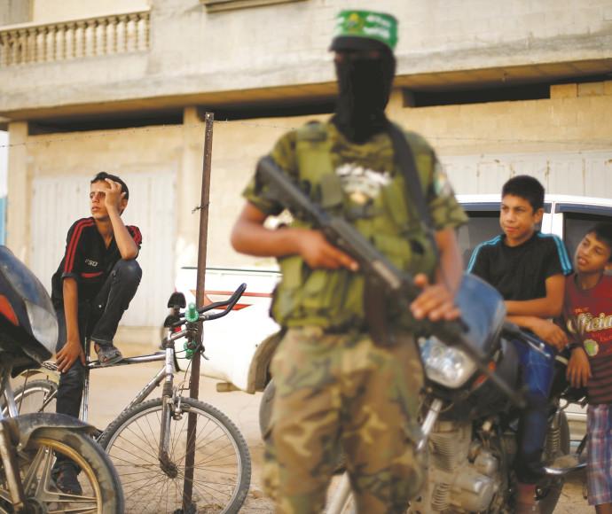 פעיל חמאס בעזה