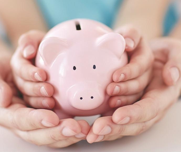 קופת חיסכון לילדים בדמות חזיר
