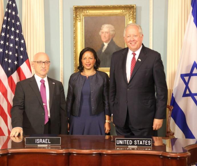 נחתם הסכם הסיוע לישראל