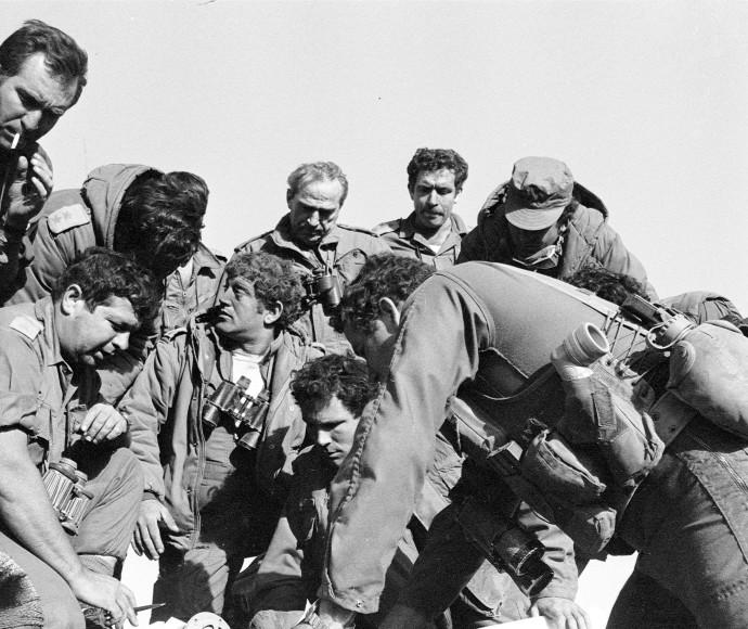 תרגיל חטיבה 188: יוני נתניהו, רפאל איתן ואיתמר צ'ציק