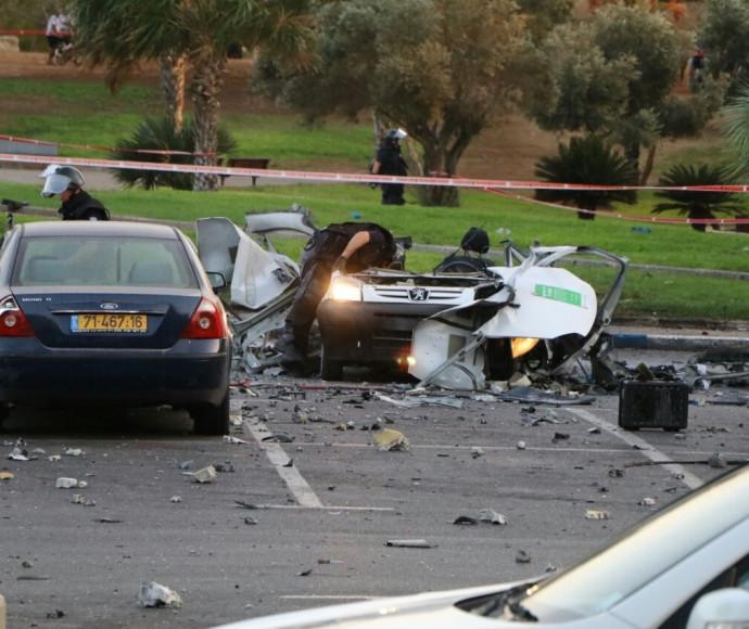 פיצוץ רכב בלה גוארדיה , תל אביב
