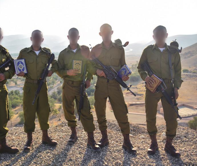 הלוחמים המוסלמים של גדוד אריות הירדן