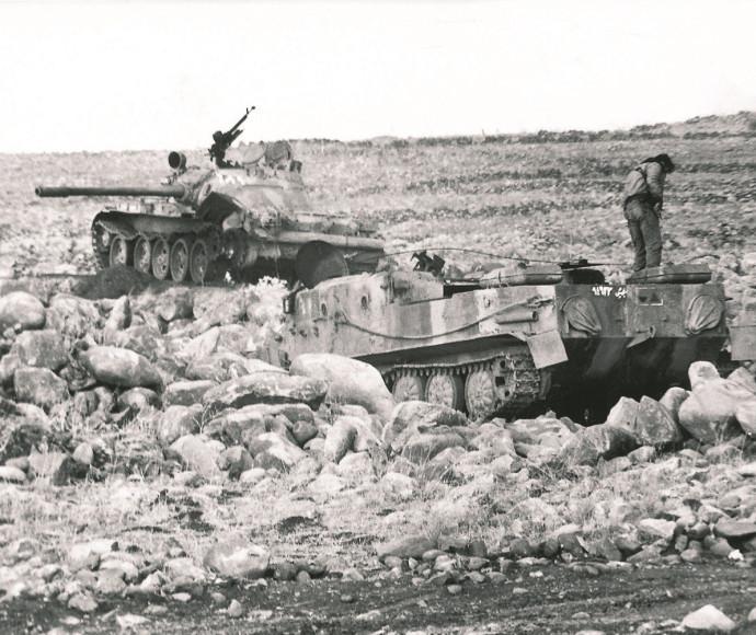 טנקים סוריים ברמת הגולן, מלחמת יום הכיפורים
