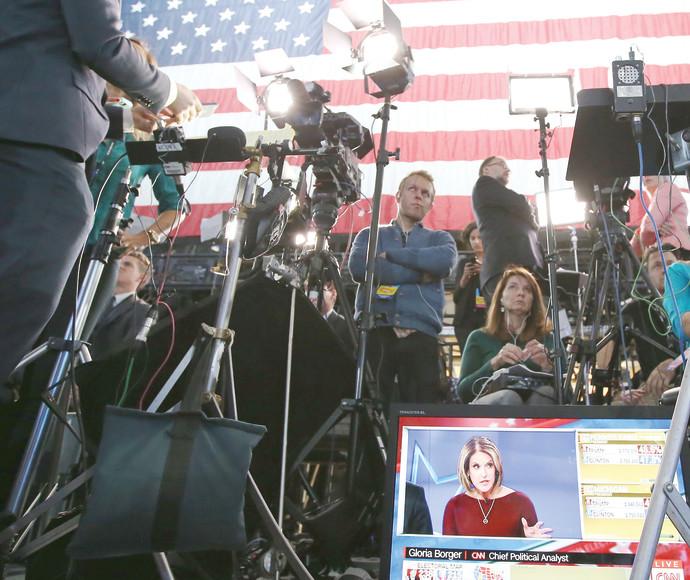 צוות תקשורת ביום הבחירות