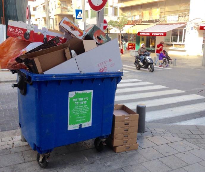 שביתת הרשויות המקומיות, תל אביב