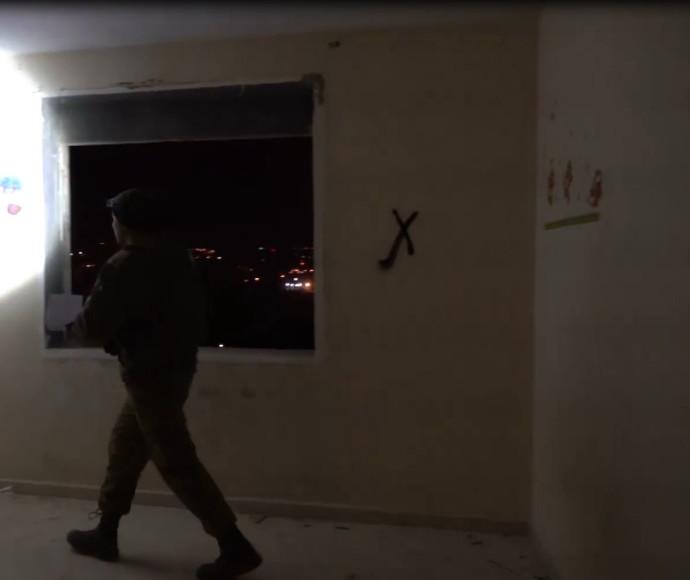 הריסת בית המחבל מגבעת התחמושת