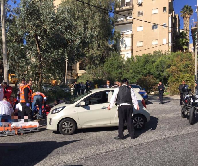 אירוע ירי ברחוב הגיבורים בחיפה