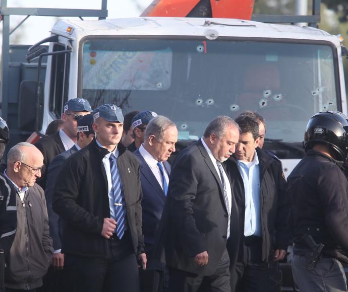 ראש הממשלה בנימין נתניהו ושר הביטחון אביגדור ליברמן