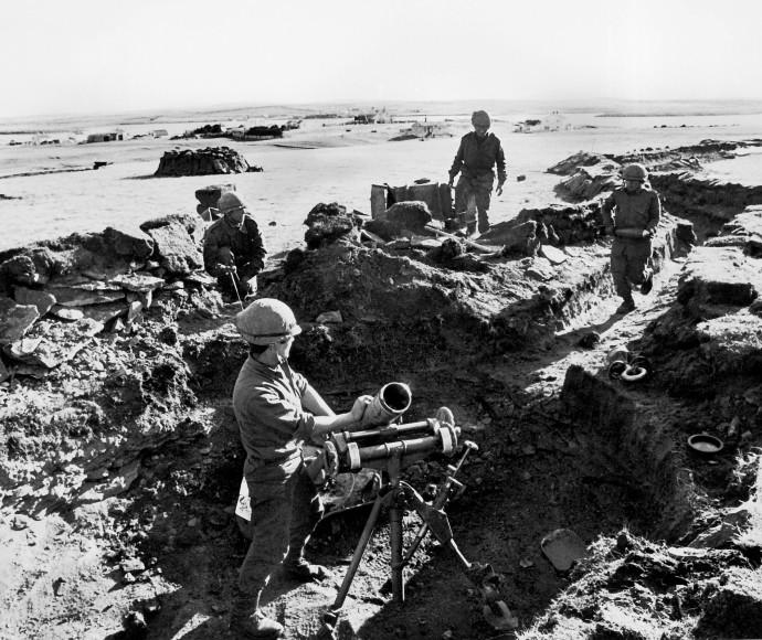 עמדה של צבא ארגנטינה במלחמת פוקלנד