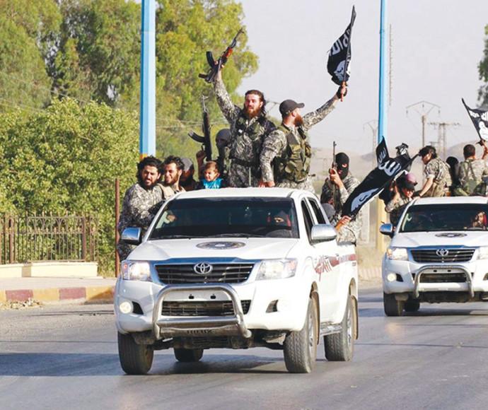 """מתוך הסרט """"דאעש מדינת טרור"""""""