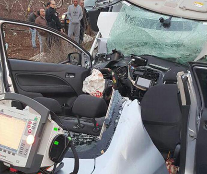 התאונה בכביש 89