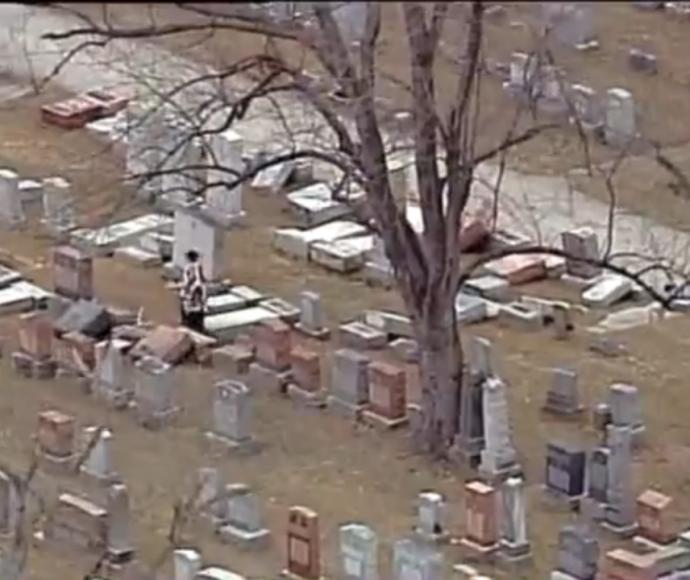 בית הקברות היהודי שחולל במיזורי