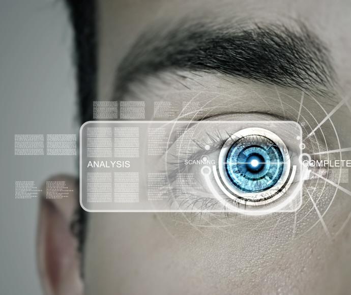 זיהוי עין ביומטרי