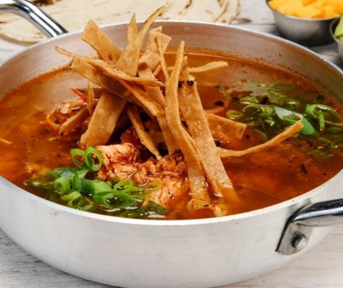 מרק טורטייה מקסיקנה