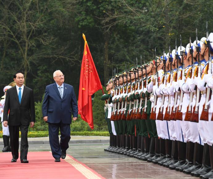 קבלת פנים לנשיא ריבלין, ויטנאם