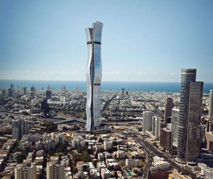 """מגדל """"בין ערים"""", הדמיה"""