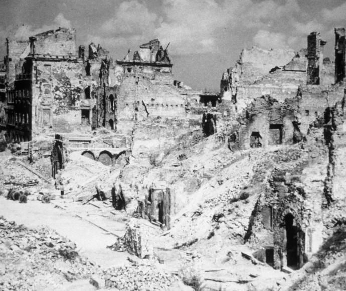 גטו ורשה לאחר המלחמה