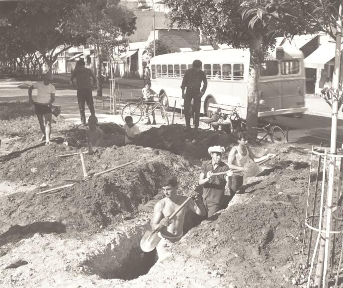 חפירת שוחות בתל אביב
