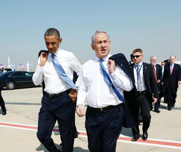 אובמה בביקור בישראל