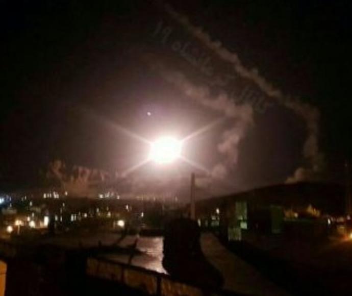 איראן תוקפת בסוריה