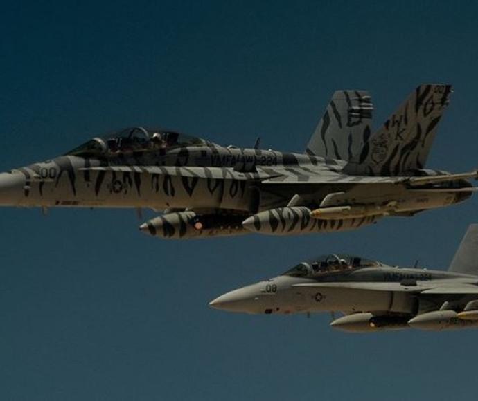 מטוסי קרב אמריקאים בסוריה