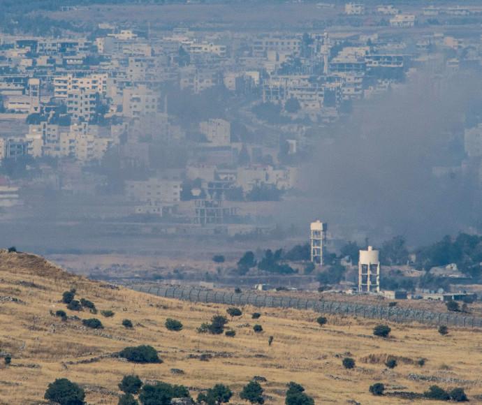 גבול סוריה באזור קונטרה
