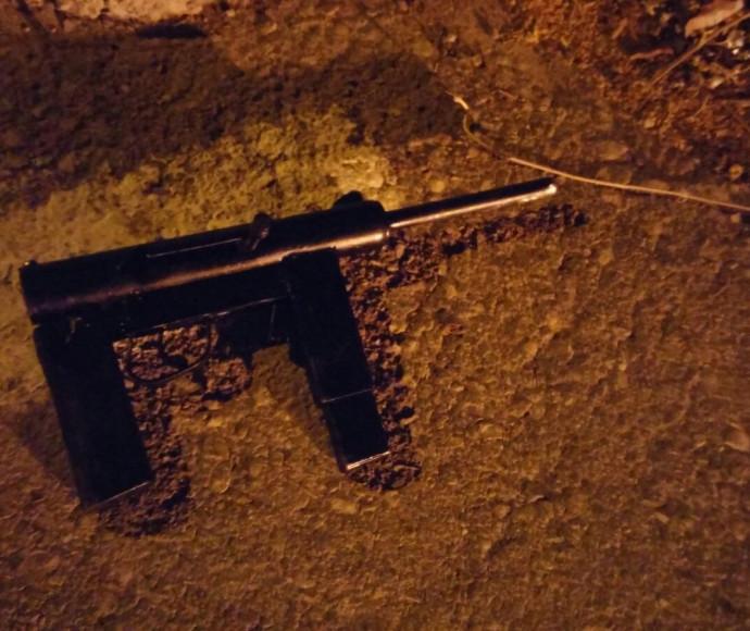 הנשק של החמוש בחברון