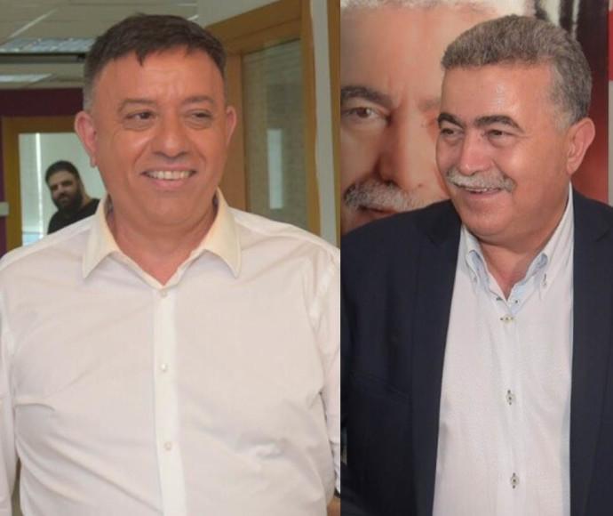 עמיר פרץ ואבי גבאי
