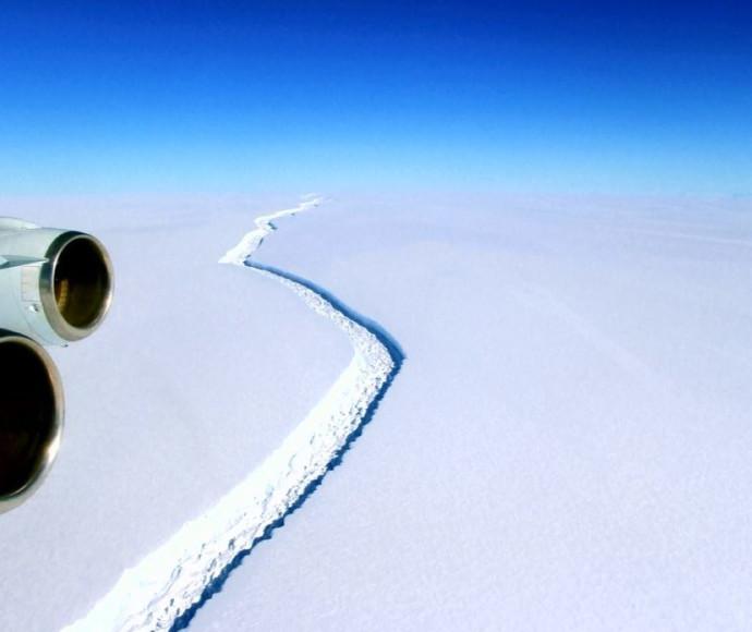 התנתקות קרחון באנטרקטיקה