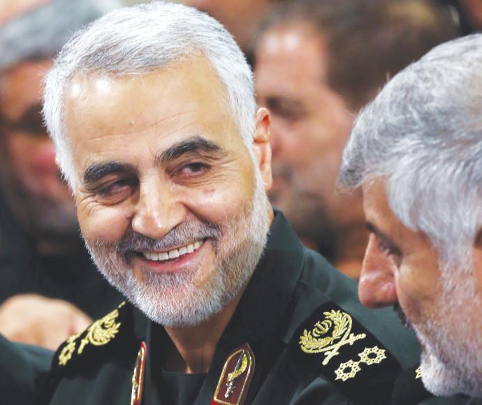 מפקד כוח קודס האיראני קאסם סולימאני