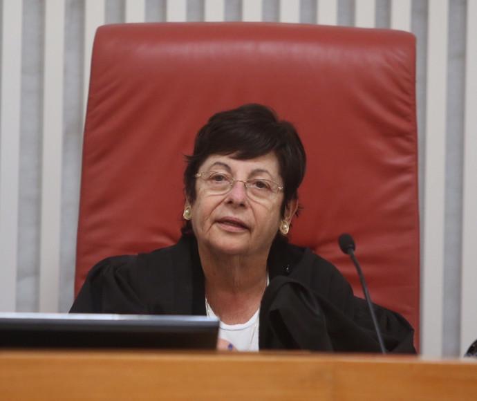 השופטת מרים נאור